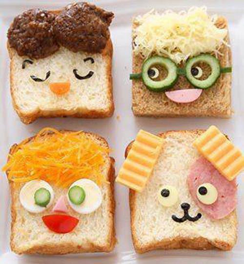 Оригинальный бутерброд своими руками рецепты с фото простые и вкусные