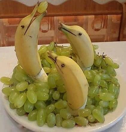"""Звери из фруктов и овощей """" Место смеха"""